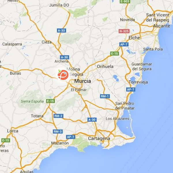 Murcia Map Of Spain.Murcia Spain Inapro Innovative Model And Demonstration Based